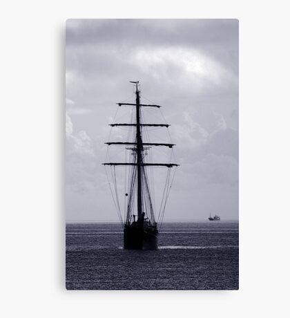 Tall Ship All Ahead Canvas Print