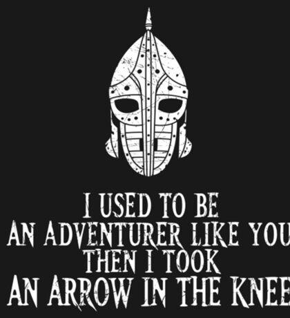 Skyrim - Arrow in the Knee Sticker