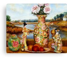 BEAUTIFUL STILL LIFE PAINTINGS AND PRINTS BY CANADIAN ARTIST CAROLE SPANDAU Canvas Print