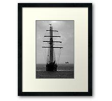 Tall Ship Ahoy! Framed Print
