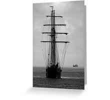 Tall Ship Ahoy! Greeting Card