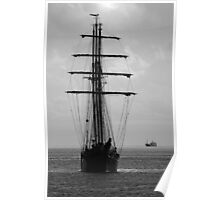 Tall Ship Ahoy! Poster