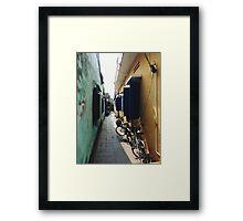 Bikes Vietnam Framed Print