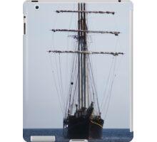 Tall Ship In Bangor iPad Case/Skin