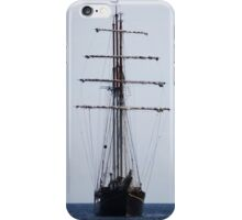 Tall Ship In Bangor iPhone Case/Skin