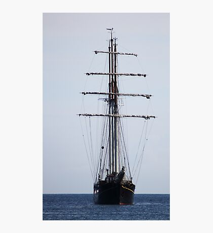 Tall Ship In Bangor Photographic Print