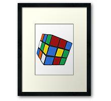 Rubik's, Used Framed Print