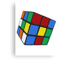 Rubik's, Used Canvas Print