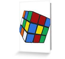 Rubik's, Used Greeting Card