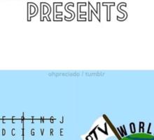 The World Tour Sticker