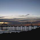 Brighton Sunset by Debra LINKEVICS