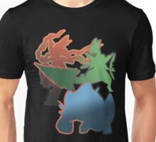 Mega Blaziken, Swampert, and Sceptile Unisex T-Shirt