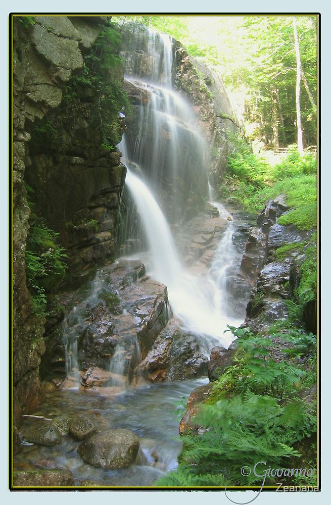 Avalanche Waterfalls, NH by Zeanana