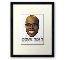 Jandino 2012 (Kony) Framed Print