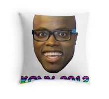 Jandino 2012 (Kony) Throw Pillow