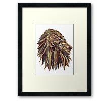House Gryffindor Framed Print