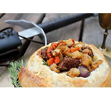 Winterfell Beef Stew Photographic Print