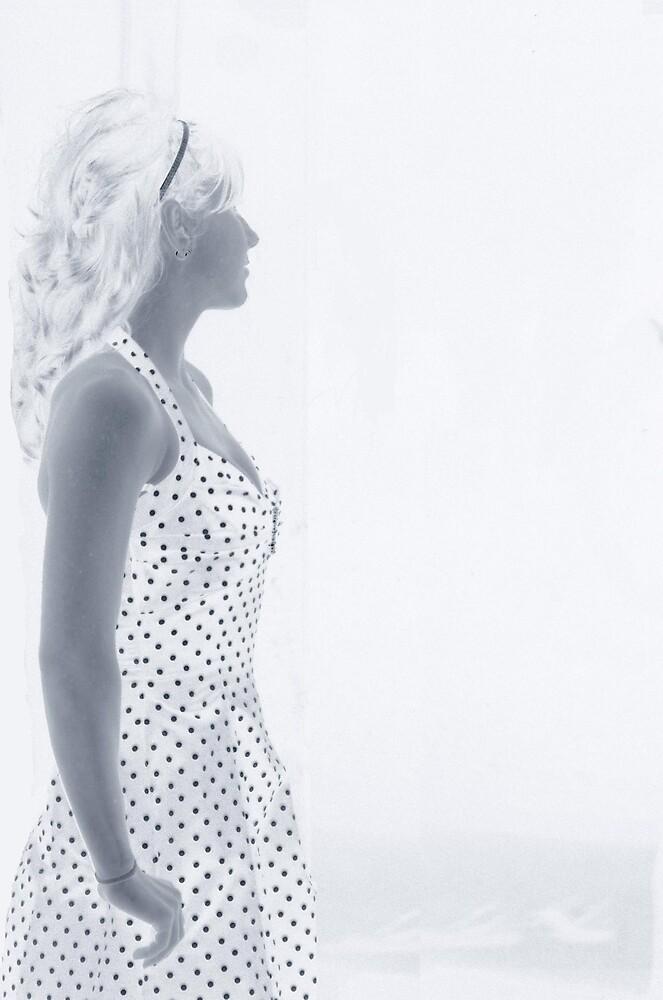 girl in window... by Jaclyn Clemens