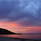 Sunset over Greek Coasts by Zeanana