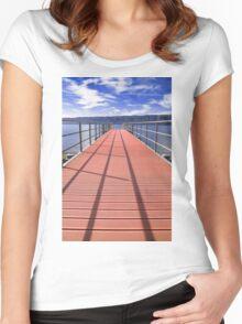 sea bridge Women's Fitted Scoop T-Shirt