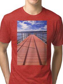 sea bridge Tri-blend T-Shirt