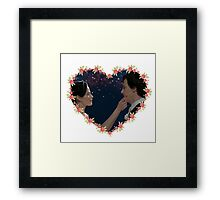 Adlock Hearted Framed Print