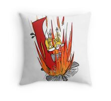 Tails S.O.S. Throw Pillow