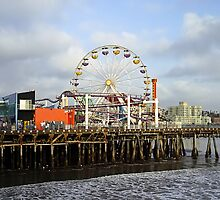 Santa Monica Pier by Barbara Gordon