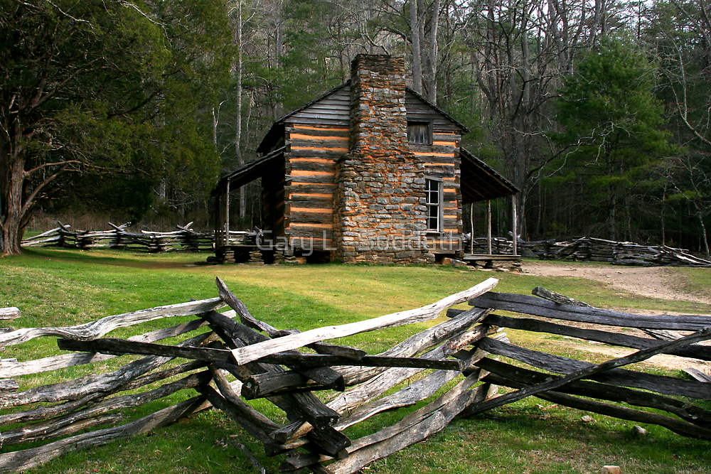 John Oliver Cabin by Gary L   Suddath