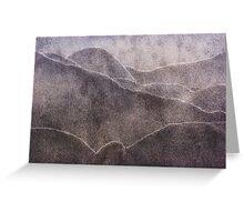 Japanese Sandscape Greeting Card