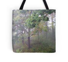 Foggy Shenandoah Mountain Top Tote Bag