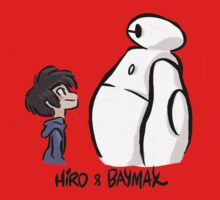 Baymax and Hiro! - Big Hero 6 by TheEnterTayner