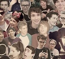 YouTubers Collage Phone Case by chloeambercat