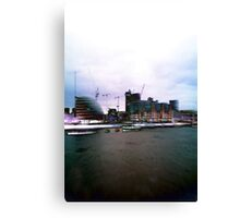 London Town Hall Canvas Print