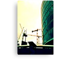 London Cranes Canvas Print