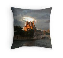 doom castle Throw Pillow