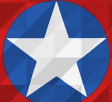 Geometric Captain Sticker