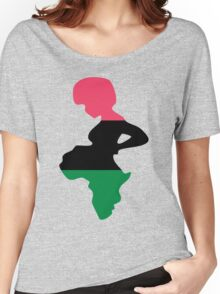 Motherland Africa Women's Relaxed Fit T-Shirt