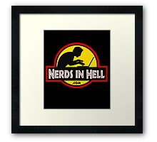 Nerds in Hell! Framed Print