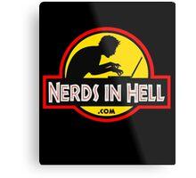 Nerds in Hell! Metal Print