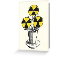 """""""The Flower of Evil"""" Greeting Card"""