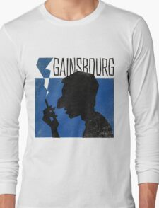 Serge Gainsbourg Long Sleeve T-Shirt