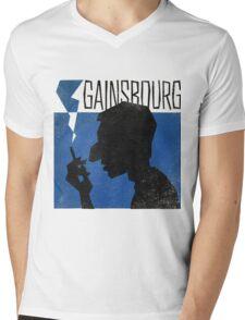 Serge Gainsbourg Mens V-Neck T-Shirt