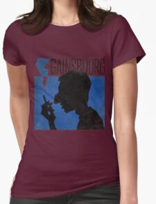 Serge Gainsbourg Womens Fitted T-Shirt