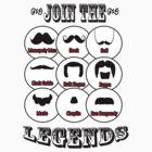 The Mustache Legends: Mustache November by twistedpainter