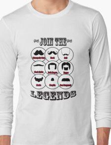 The Mustache Legends: Mustache November Long Sleeve T-Shirt