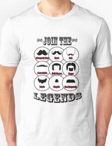 The Mustache Legends: Mustache November T-Shirt