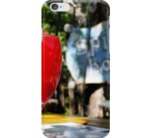 Hot Day, Cold Drink iPhone Case/Skin
