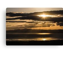 Donegal Sunset Canvas Print