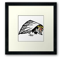 Chief Ainos Framed Print